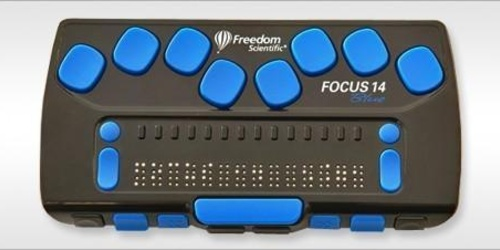 Plage Braille Focus 14 Blue