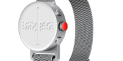 Dot Watch : montre connectée Braille